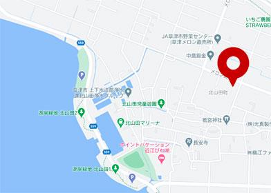 小笹農園地図